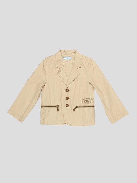 Піджак оливкового кольору Hoholino 4238160