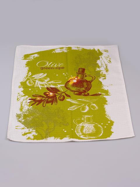 Полотенце вафельное (45х60 см) Biltex 4973301