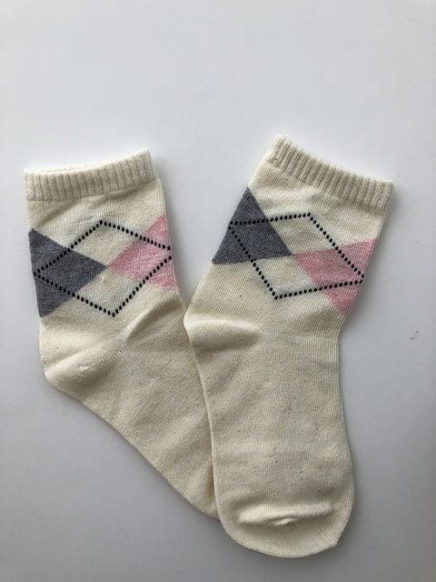 Шкарпетки молочного кольору Nettle 5106881