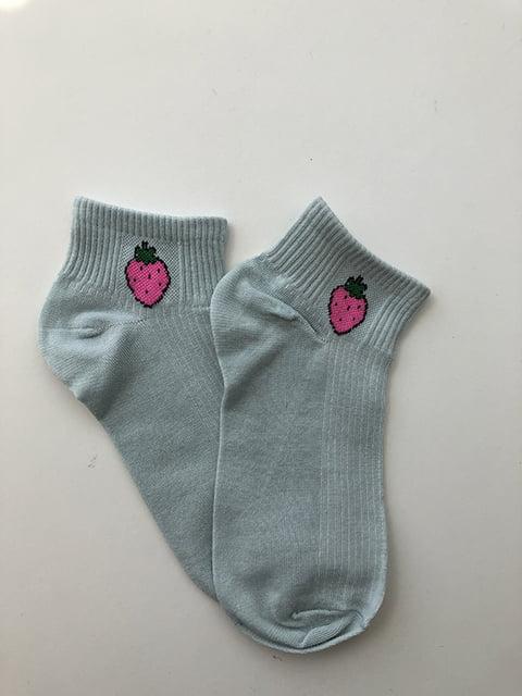 Шкарпетки блакитні Nettle 5106970