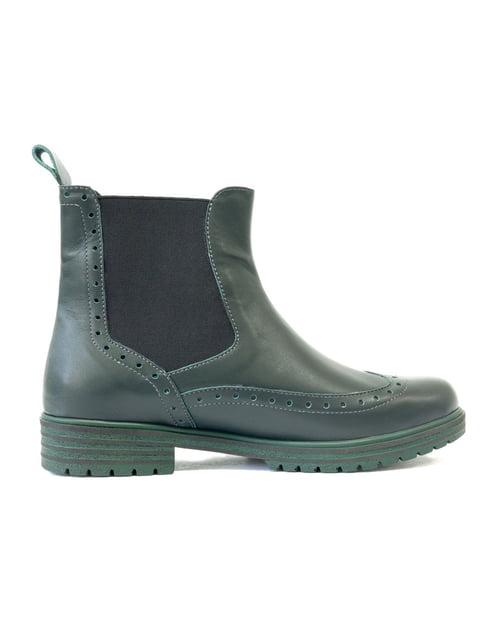 Ботинки зеленые Gino Figini 5111259