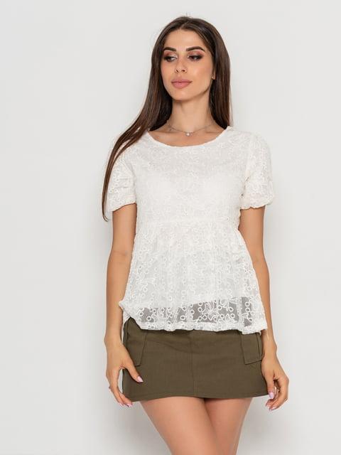 Блуза белая Magnet 5103087