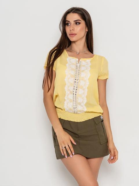 Блуза желтая Magnet 5103104