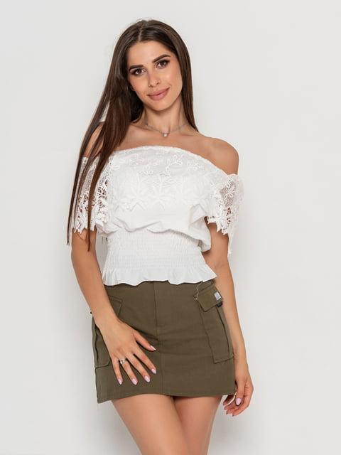 Блуза біла Magnet 5111454