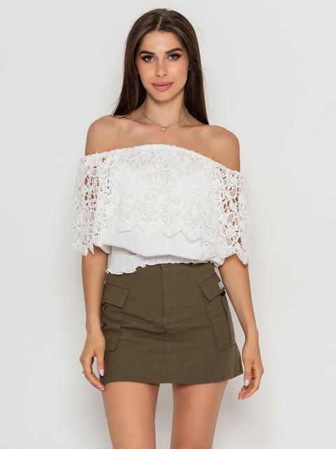 Блуза біла Magnet 5111458