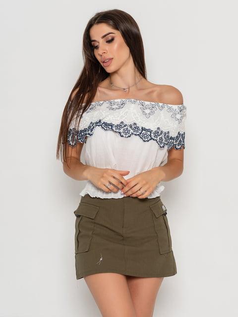 Блуза біла Magnet 5111459