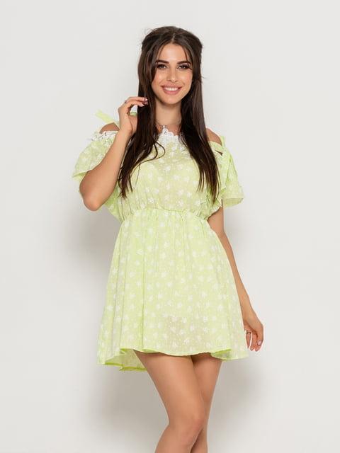 Платье салатовое Magnet 5111493
