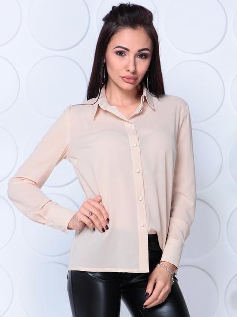 Блуза бежева Laura Bettini 5111557