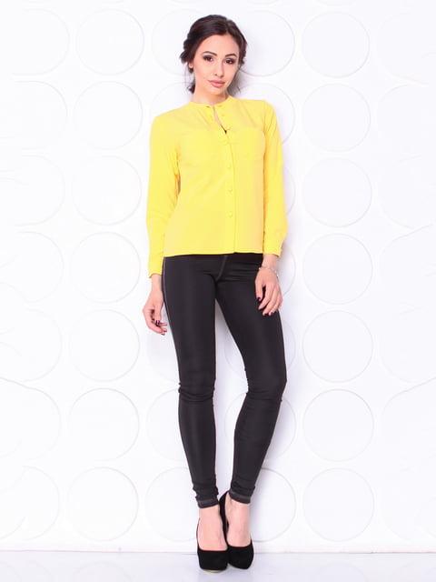 Блуза жовта Laura Bettini 5111694