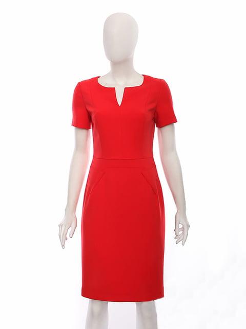 Платье красное Lesya 4950004
