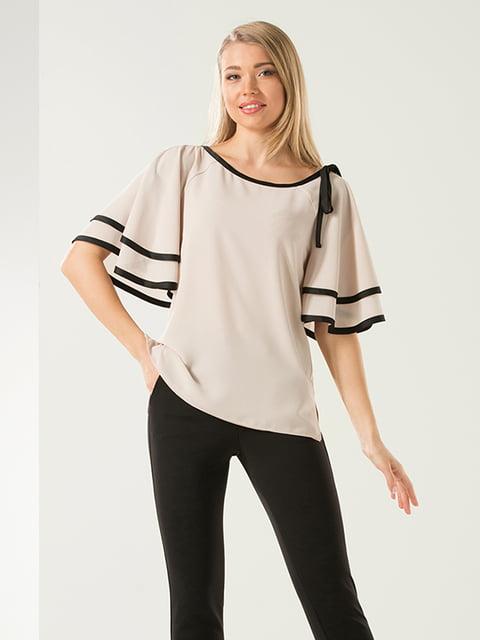 Блуза молочного цвета Lesya 4973613