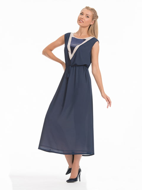 Платье синее Lesya 4973657