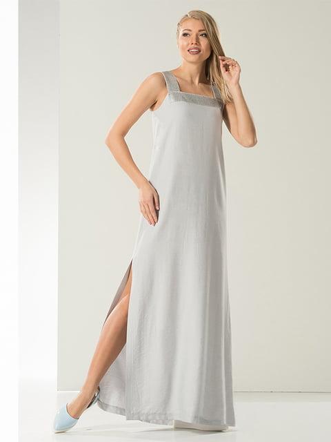 Платье серое Lesya 4973686