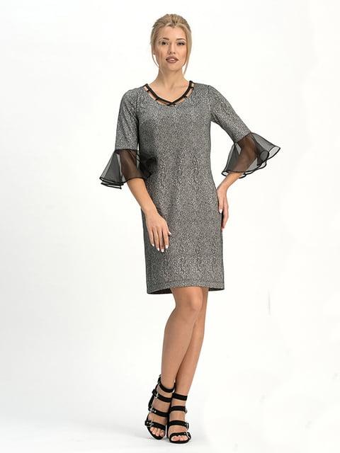 Платье серое Lesya 4973710