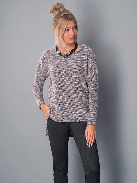 Блуза серая Lesya 4982640