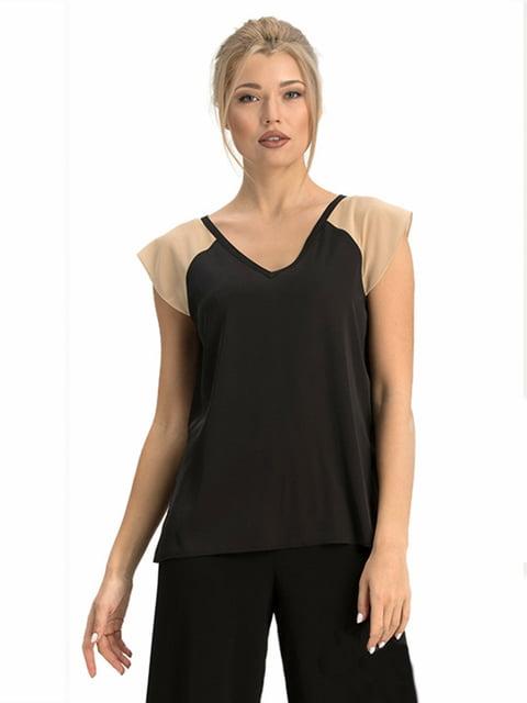 Блуза черная Lesya 5027064