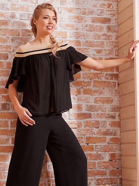 Блуза черная Lesya 5027066