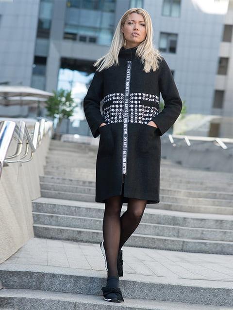 Пальто чорне Lesya 5059372