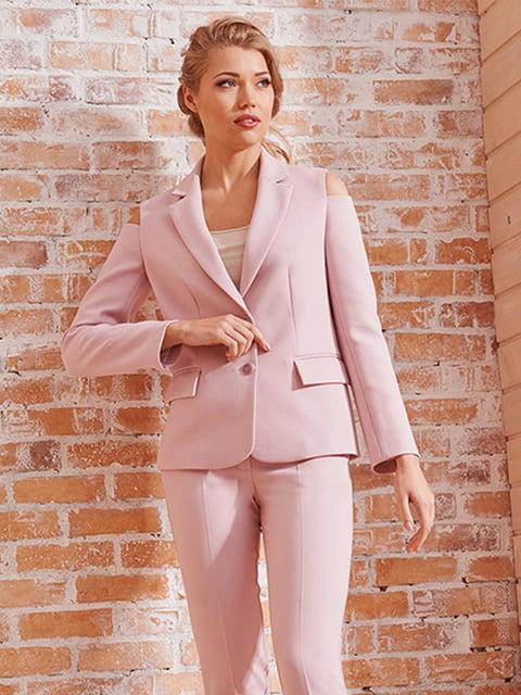 Жакет розовый Lesya 5059379