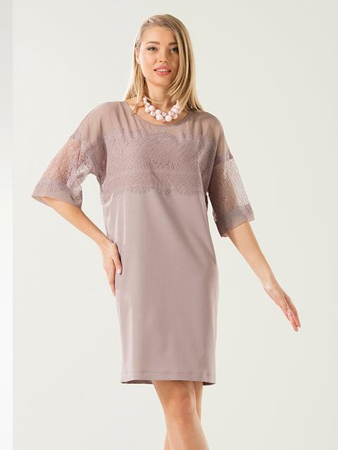 Платье бежевое Lesya 5059380