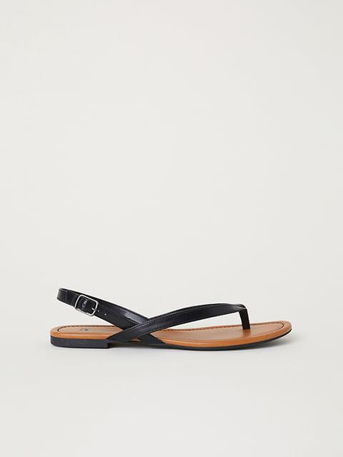 Сандалии черные H&M 5107618