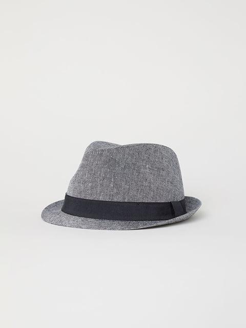 Капелюх сірий H&M 5107701