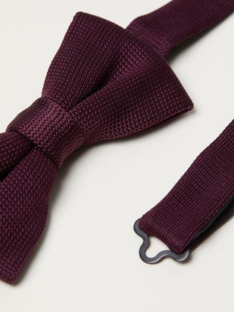 Краватка-метелик бордова H&M 5107705