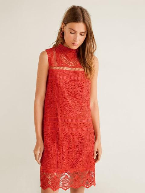 Сукня червона Mango 5109191