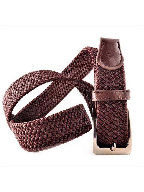 Ремінь-резинка темно-коричневий Weatro 5113615