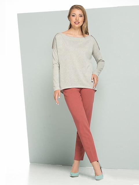 Блуза сіра Lesya 5109690