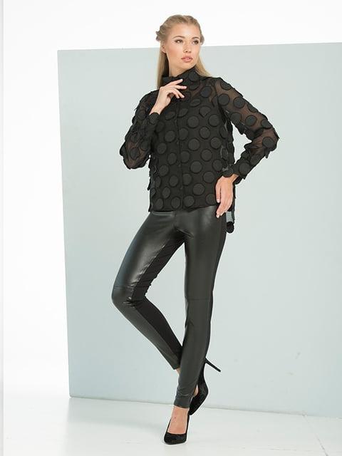 Блуза черная Lesya 5109702