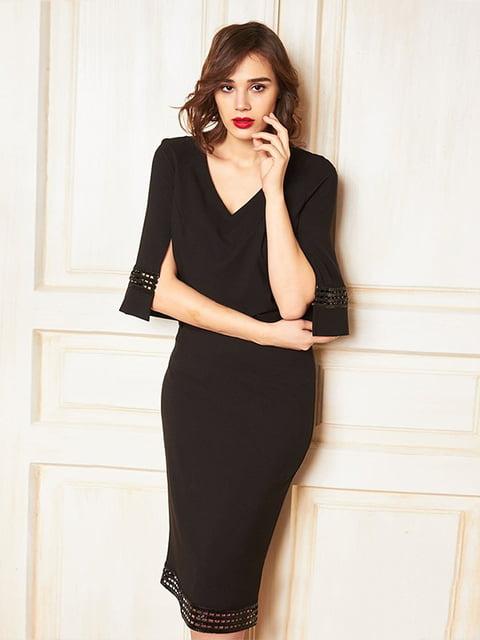 Платье черное Lesya 5109748