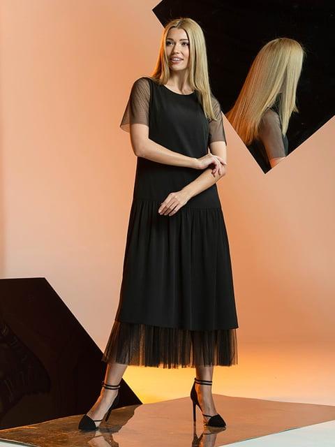 Платье черное Lesya 5109769