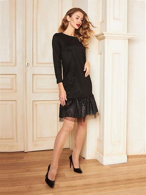 Платье черное Lesya 5109806