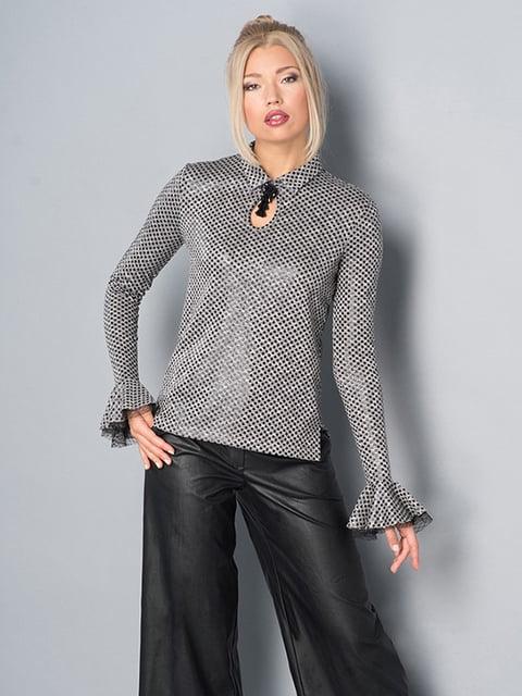 Блуза серая Lesya 5114042