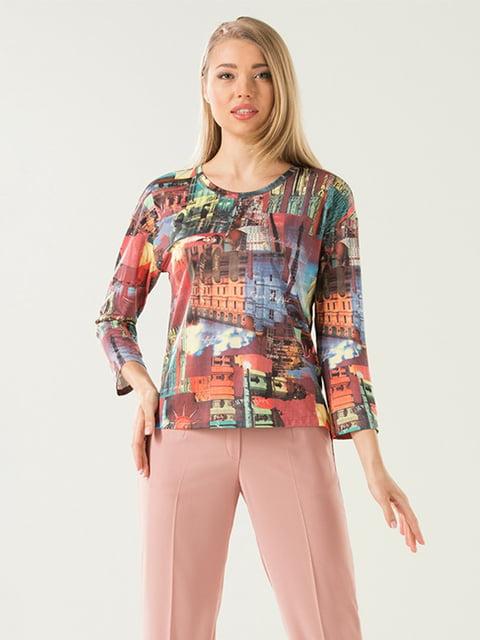 Блуза в принт Lesya 5114043