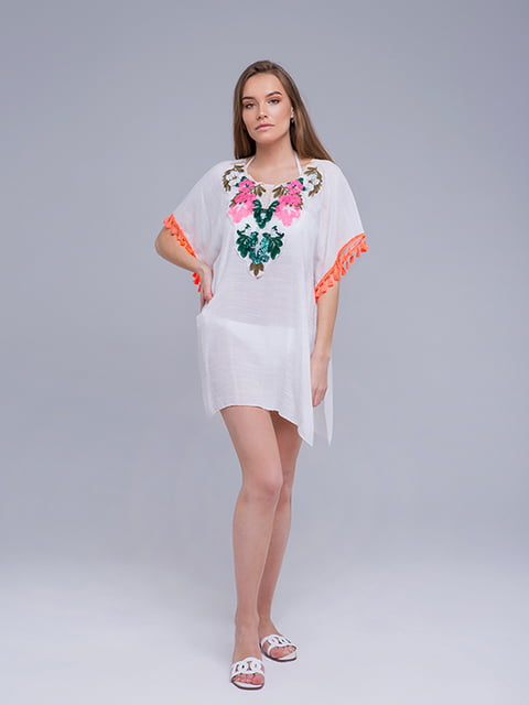 Туника белая VALIRIA FASHION 5114677