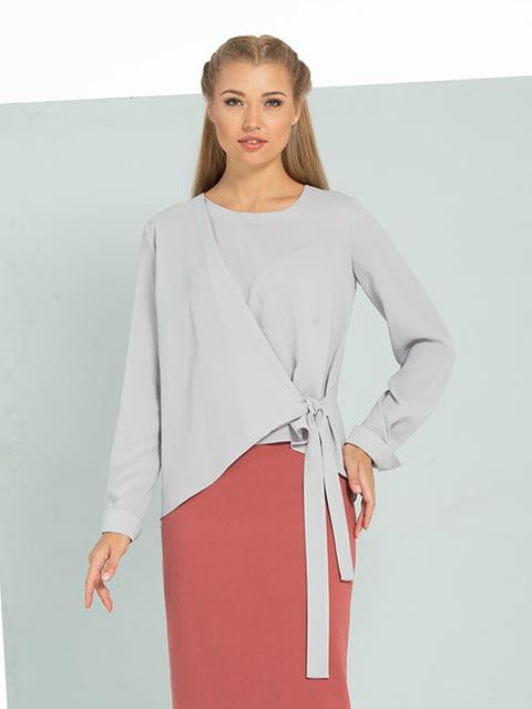 Блуза серая Lesya 5109704