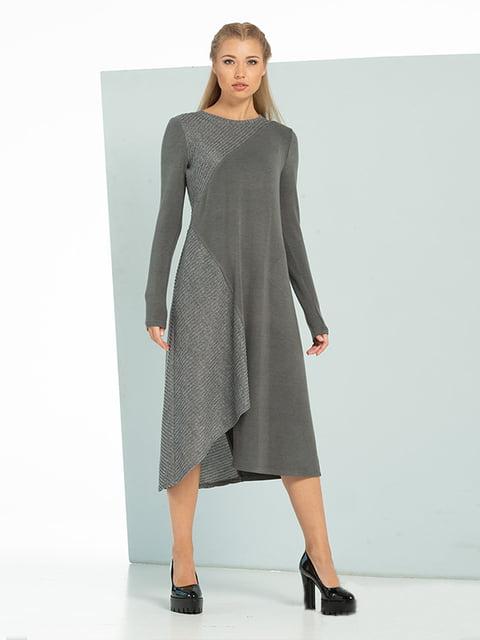 Платье серое Lesya 5109793