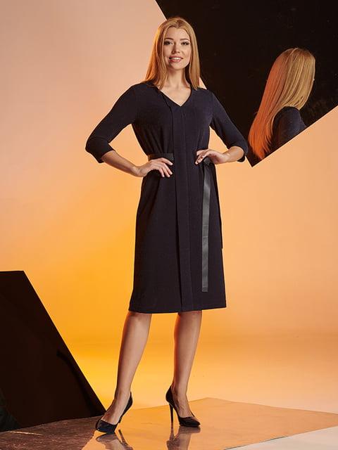 Сукня темно-синя Lesya 5109837