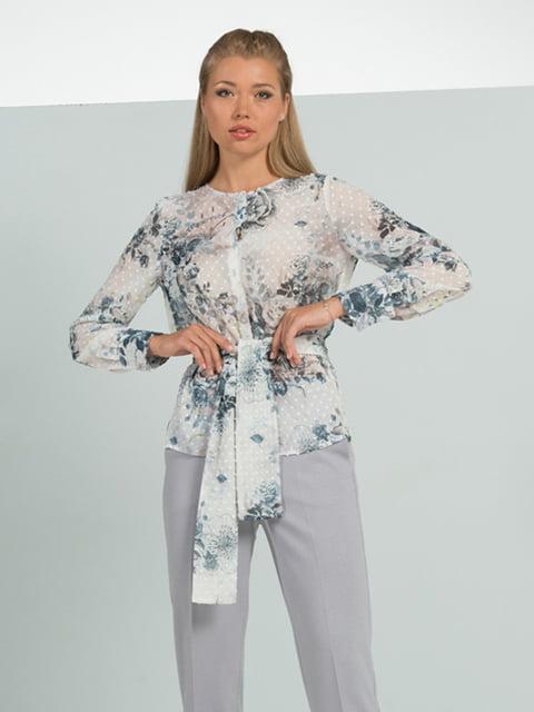 Блуза в цветочный принт Lesya 5114055