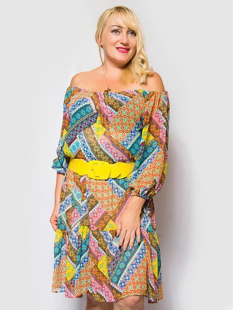 Платье бирюзовое LibeAmore 5062232