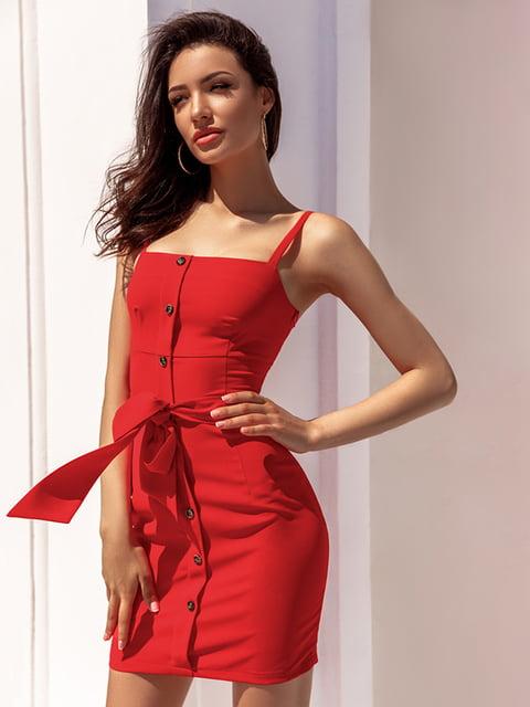 Платье красное Gepur 5116519