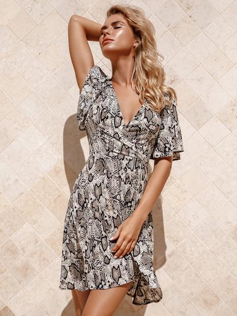 Платье анималистичной расцветки Gepur 5116529