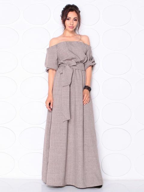 Сукня кольору мокко Laura Bettini 5117079