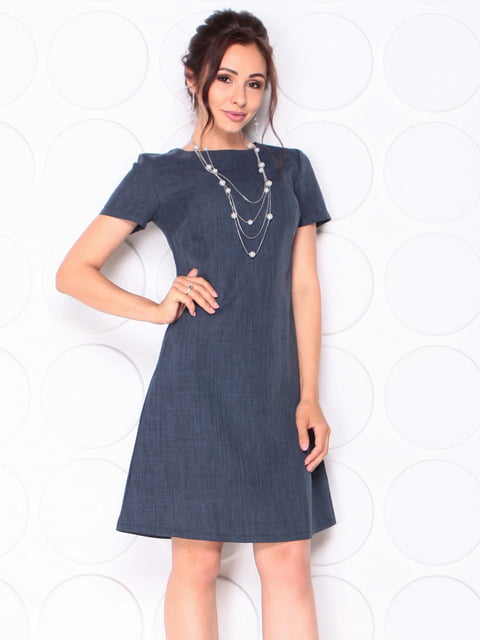Сукня темно-синього кольору Laura Bettini 5117085