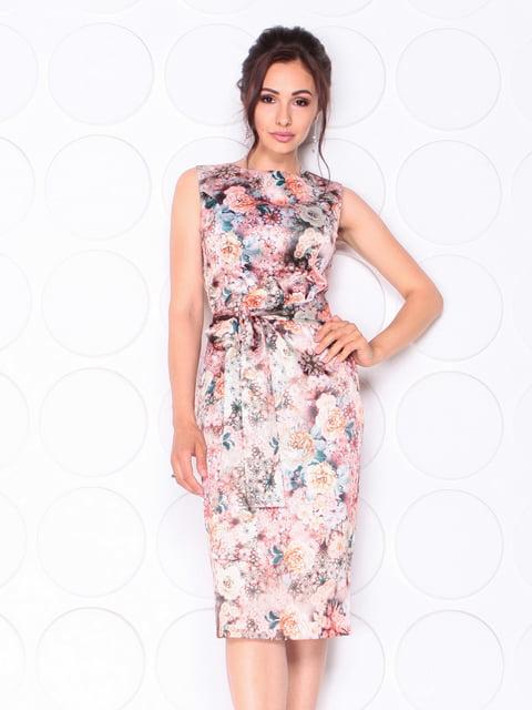 Платье в цветочный принт Laura Bettini 5117089