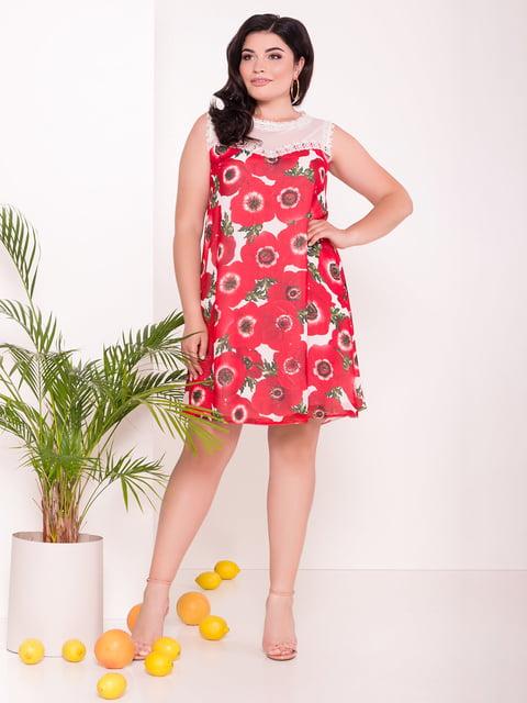 Сукня молочного кольору в квітковий принт Modus 5112279