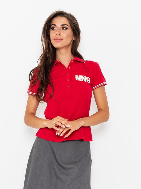 Футболка-поло красная Magnet 5117979