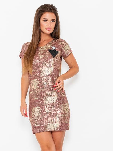 Сукня бордова Magnet 5118003